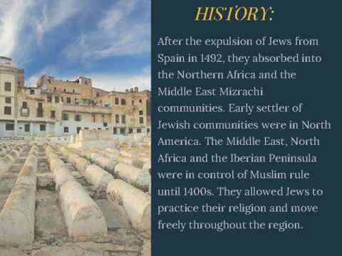 Sephardic Jews And Their Congregations  Ari Afilalo