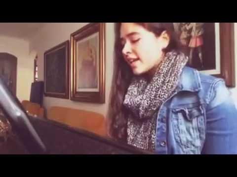 Por amarte así- cover de Cata Claro vía Facebook