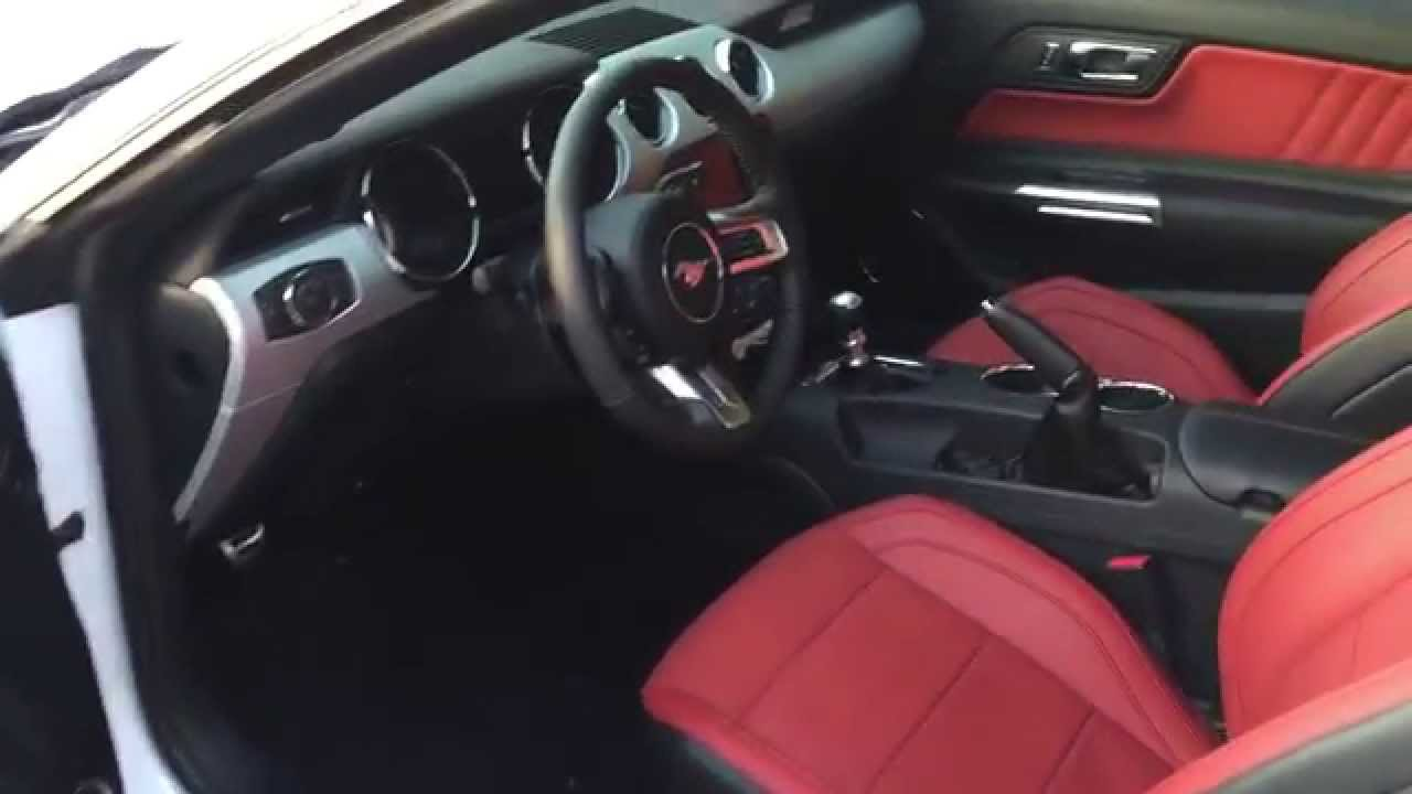 2015 Mustang Gt Premium Vehicle Interior Youtube