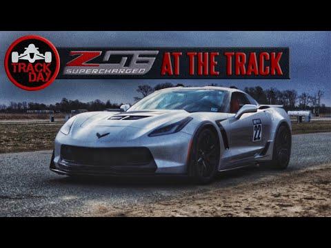 How Does Aero Affect Corvette C7 Z06 Acceleration + Casual Hot Lap Around NJMP Thunderbolt POV