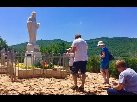 Na místě ZJEVOVÁNÍ Panny Marie (Medžugorje, 2.6.2018)