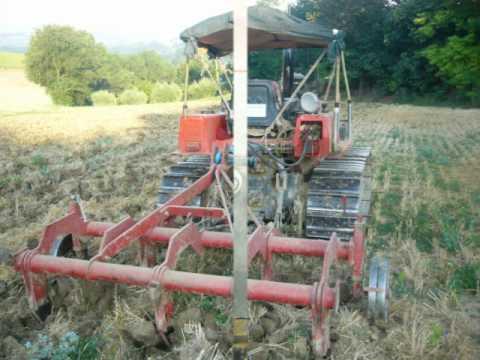 Trattore lamborghini dt235 con ripuntatore 5 ancore fr for Di raimondo macchine agricole