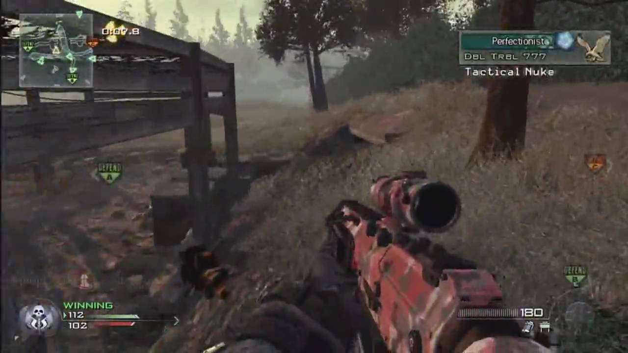 MW2 Ground War Wasteland Tactical Nuke