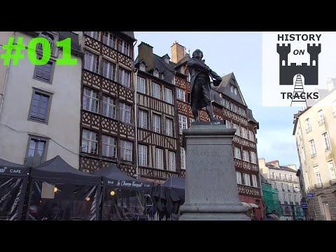 Rennes. Historic city centre | France #1