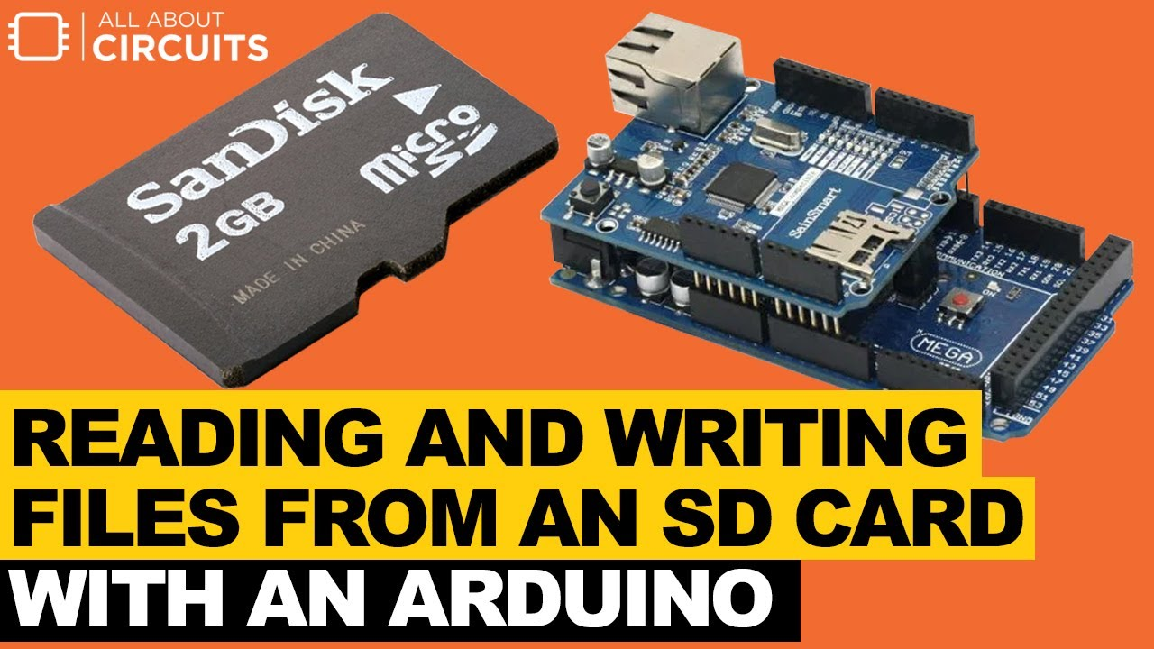 Use an Arduino to Read and Write Files from an SD card