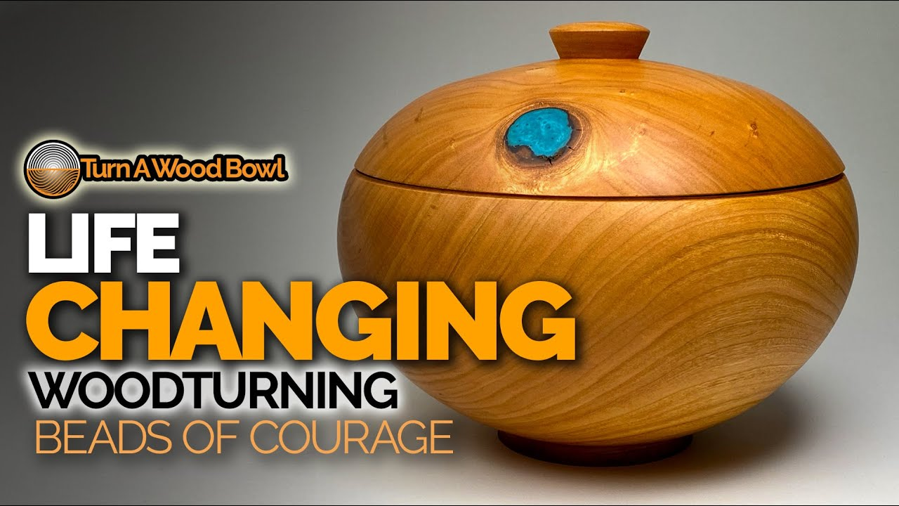 Life-Changing Lidded Wood Bowl Turning — Very Special Video