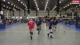 2016-02-15 Monsoon Volleyball 15-1 vs 650 Xtreme Volleyball Club 15-2