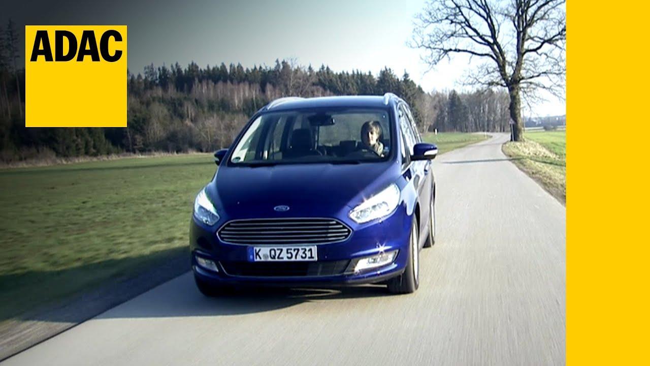 Ford Galaxy 20 Tdci Im Test Autotest 2016 Adac Youtube