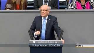 Volker Kauder (CDU): Erfolgsgeschichte der Vertriebenen aus eigener Kraft und nationaler Solidarität