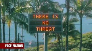 False emergency alert sends Hawaii into a panic
