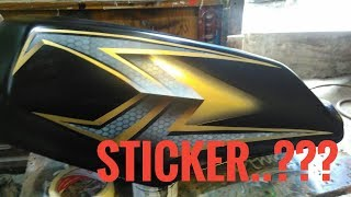Video Airbrushing Motorcycle like a Sticker? download MP3, 3GP, MP4, WEBM, AVI, FLV Mei 2018