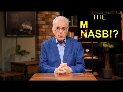 Revised NASB From John MacArthur And The Master's Seminary (LEGACY STANDARD BIBLE)