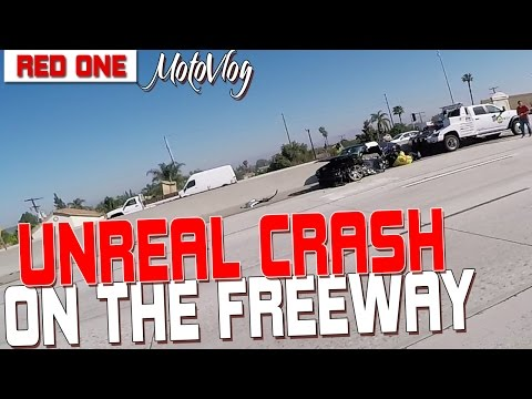 Unreal Crash On The Freeway