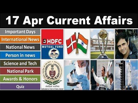 17 April 2019 PIB News, The Hindu, Indian Express - Current Affairs in Hindi, Nano Magazine, VeeR