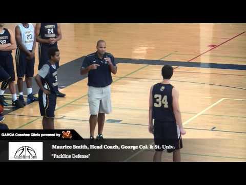 "GAMCA Coaches Clinic: Maurice Smith, Georgia Col. & St. Univ., ""Packline Defense"""