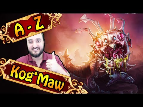 A-Z KOG'MAW JUNGLE, bester Late Game Champion | League of Legends thumbnail