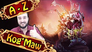 A-Z KOG'MAW JUNGLE, bester Late Game Champion | League of Legends