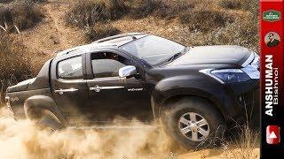 Mahindra Thar, Isuzu V Cross, Ford Endeavour. Obstacle 4. 18 12 16