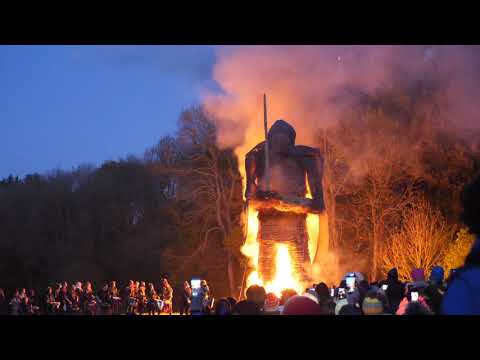 Andy Visits The Wicker Man And Beltain Festival