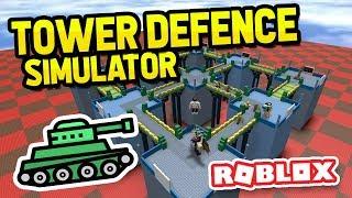 COMPRANDO tanques OP em ROBLOX TOWER DEFENCE SIMULATOR
