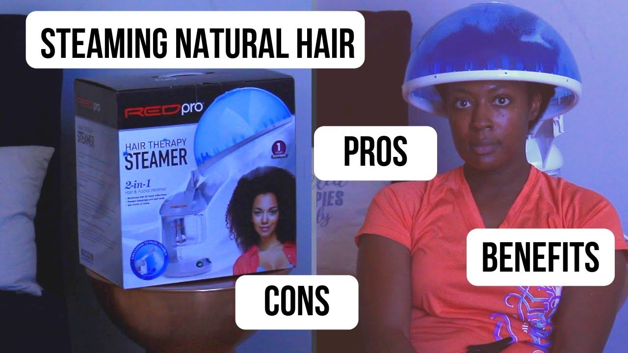 Red By Kiss Hair Therapy Steamer | Are The Benefits to Steaming Natural  Hair A Scam?