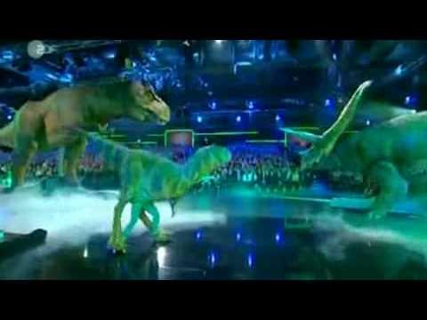 Danosse Com Dinossauros Reais No Programa De Tv Ao Vivo Youtube