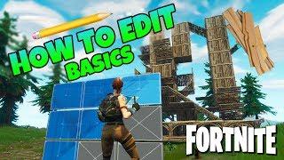 Fortnite How To Edit Fast Basics   Battle Royale Starter Tips