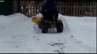 Sears Suburban 12 Snow Plowing, again