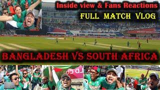 Bangladesh vs South Africa match vlog   ICC World Cup 2019 Ban vs SA   Bangladeshi Vlog
