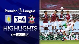 Ward-Prowse delivers free-kick masterclass 💯 | Aston Villa 3-4 Southampton | EPL Highlights