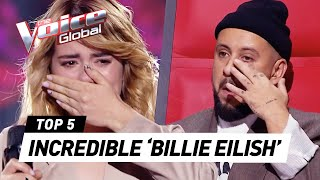 MOST emotional BILLIE EILISH Blind Auditions in The Voice 2020
