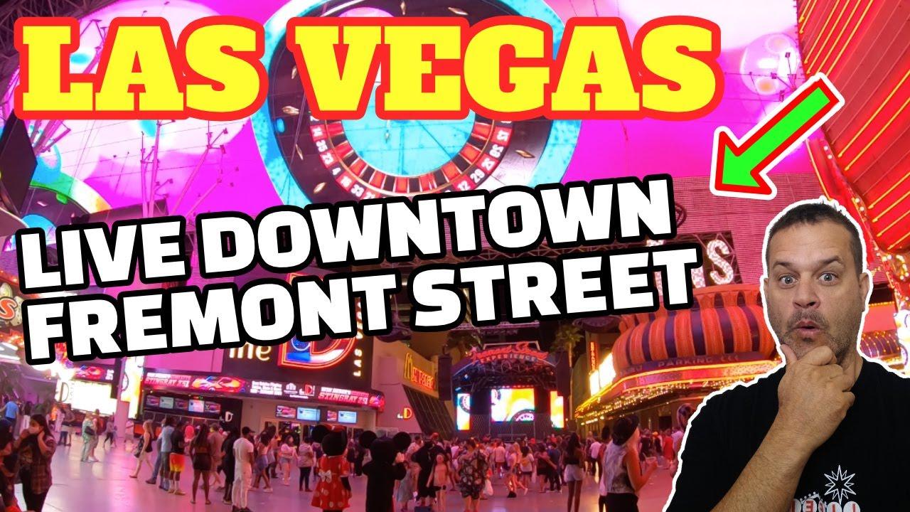 Live Downtown Las Vegas! Sunday Funday!