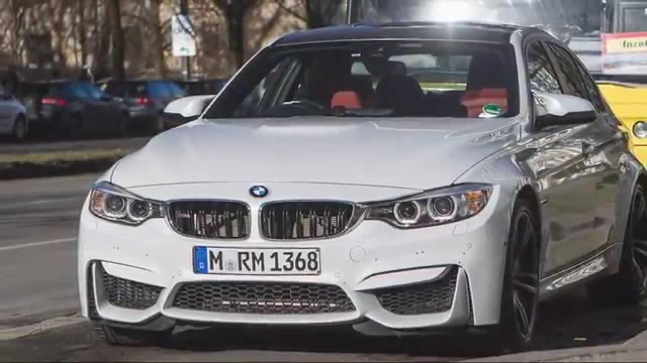 2014 BMW M3 Sedan vs BMW M4 Coupe Sporting - YouTube