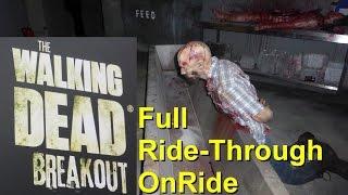 Movie Park Neuheit 2016 - The Walking Dead Breakout Maze - Presserundgang