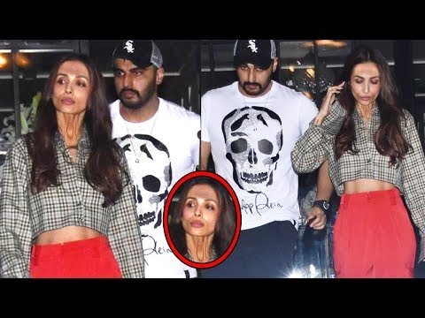 Malaika Arora Looking Very Old Without Makeup In Front Of BF Arjun Kapoor @Soho House For DinnerDate Mp3