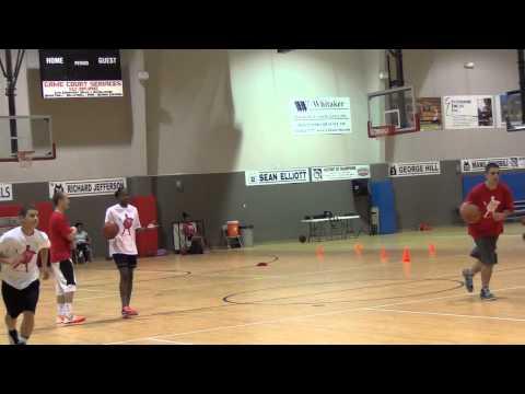 Danny Green Transition Shooting Drill - San Antonio Basketball Camp