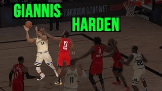 Harden Gets REVENGE on Giannis!!!