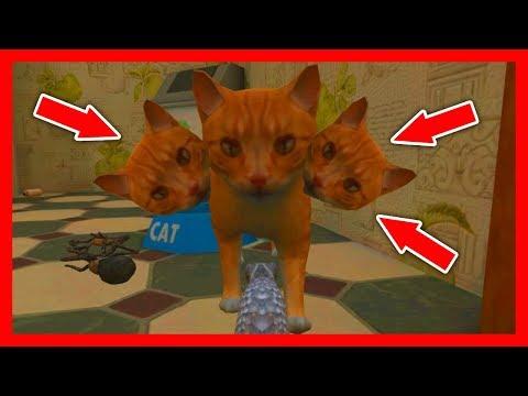 СИМУЛЯТОР МЫШИ #35 ОХОТИТСЯ КОШКА в Mouse Simulator