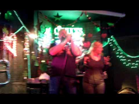 In Orlando at the karaoke