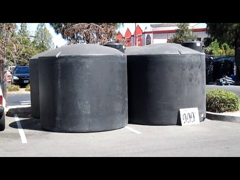 2500 Gallon Rainwater Tank For Sale At The Home Depot!
