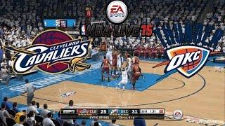 NBA Live 15 - Cleveland Cavaliers vs Oklahoma City Thunder - Full Game Gameplay [ HD ]