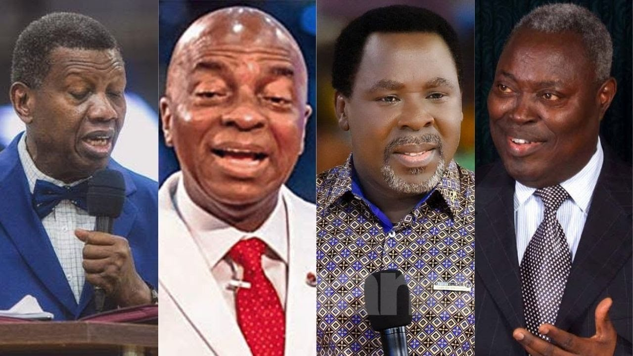 Download Adeboye, Oyedepo, Kumuyi rejected TB Joshua till the end
