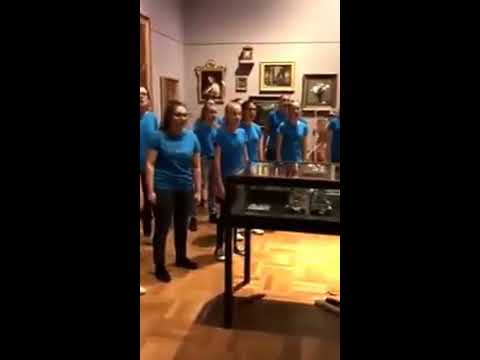 Young Adelaide Voices First Concert Choir in Neo at Art Gallery of South Australia