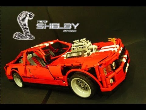 lego technic rc 2014 ford mustang shelby gt 500 youtube. Black Bedroom Furniture Sets. Home Design Ideas