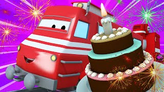Train for kids -  Troy the Train is a Baker Train and Saves Train Town Birthday  - Troy The Train