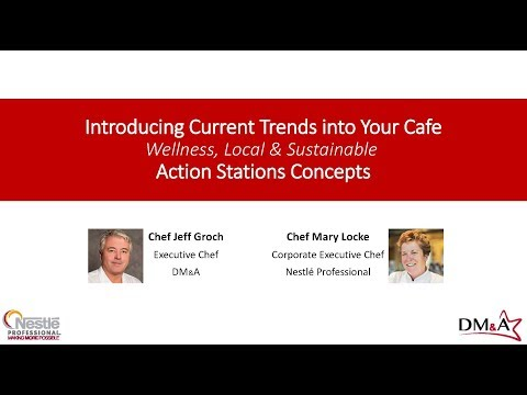 DM&A Webinar - Introducing Current Trends into Your Cafe