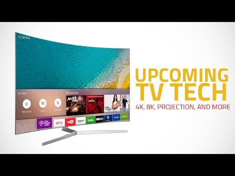 Best Upcoming TV Technology: 4K, 8K, Projection and More