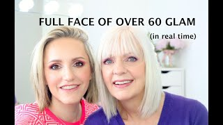 FULL FACE OVER 60 GLAM (In Real Time)