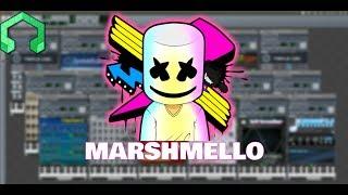 Marshmello Music under 2 MINUTES! ( LMMS TUTORIALS )