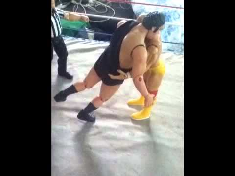 Download WWE JAKKS HULK HOGAN VS ANDRE THE GIANT WRESTLEMANIA 3
